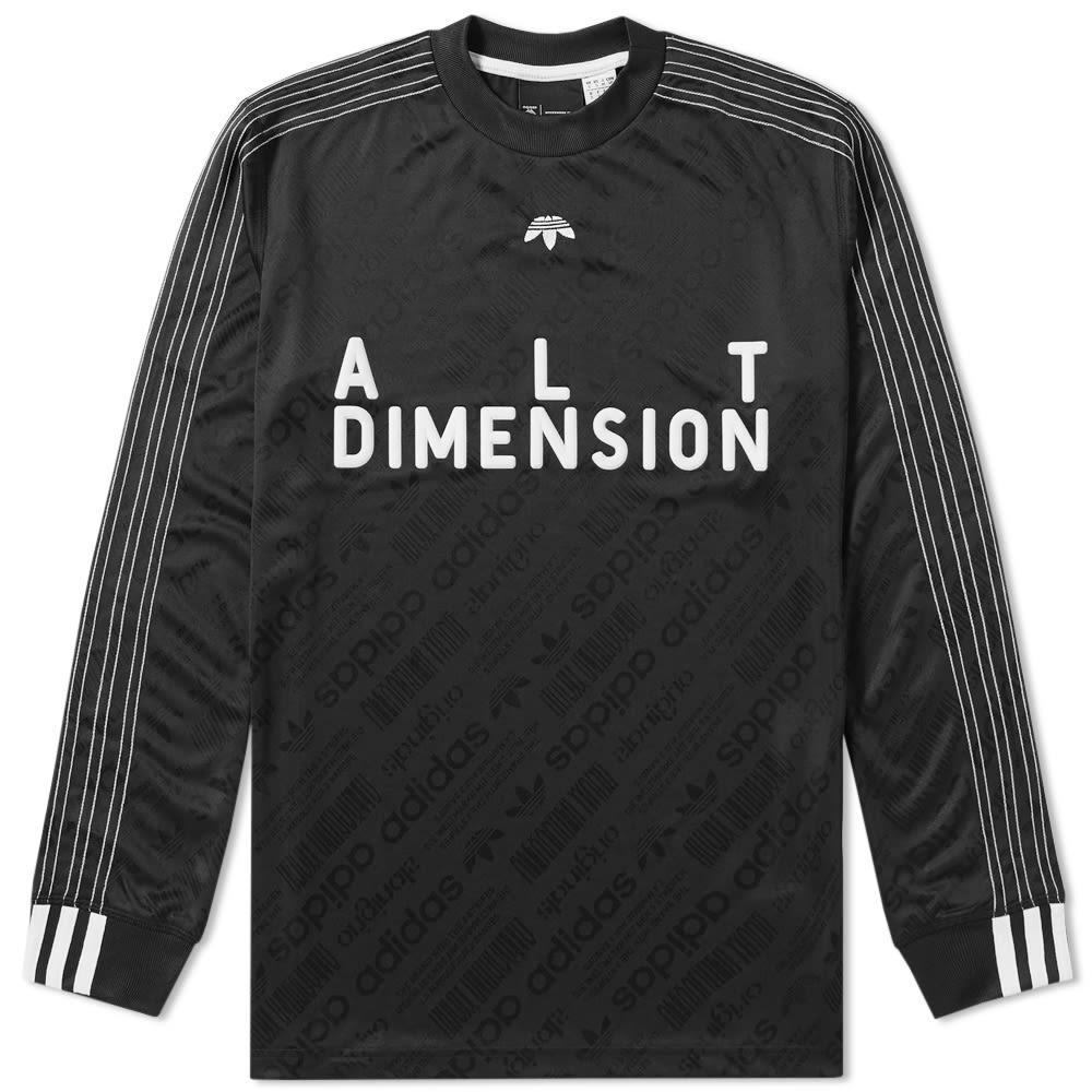 the best attitude af5bc 8d6f4 Adidas Originals by Alexander Wang Long Sleeve Soccer Jersey