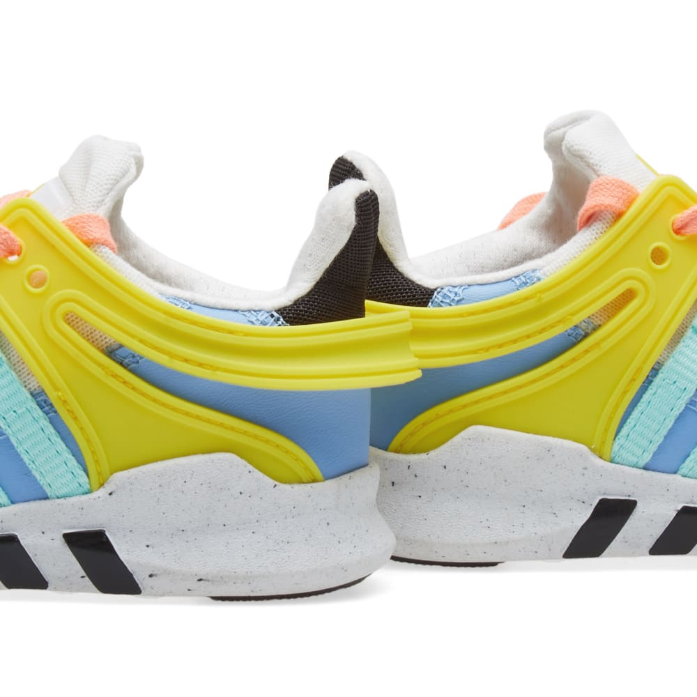 low priced c3fe9 13a71 Adidas Equiptment Support ADV Mini Rodini Sneakers White   Core Black   END.