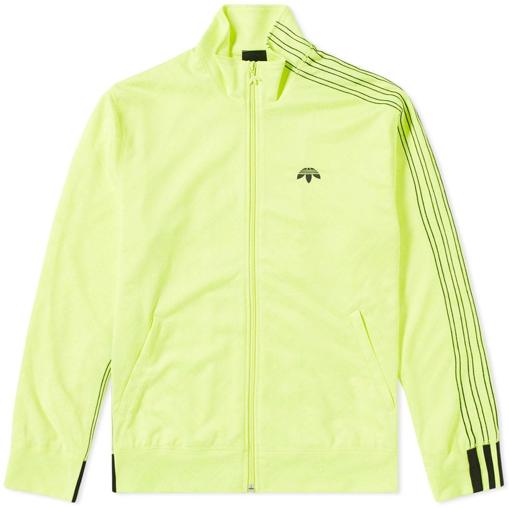 Oclusión Decepcionado Proverbio  Adidas Originals by Alexander Wang Jacquard Track Top Solar Yellow | END.