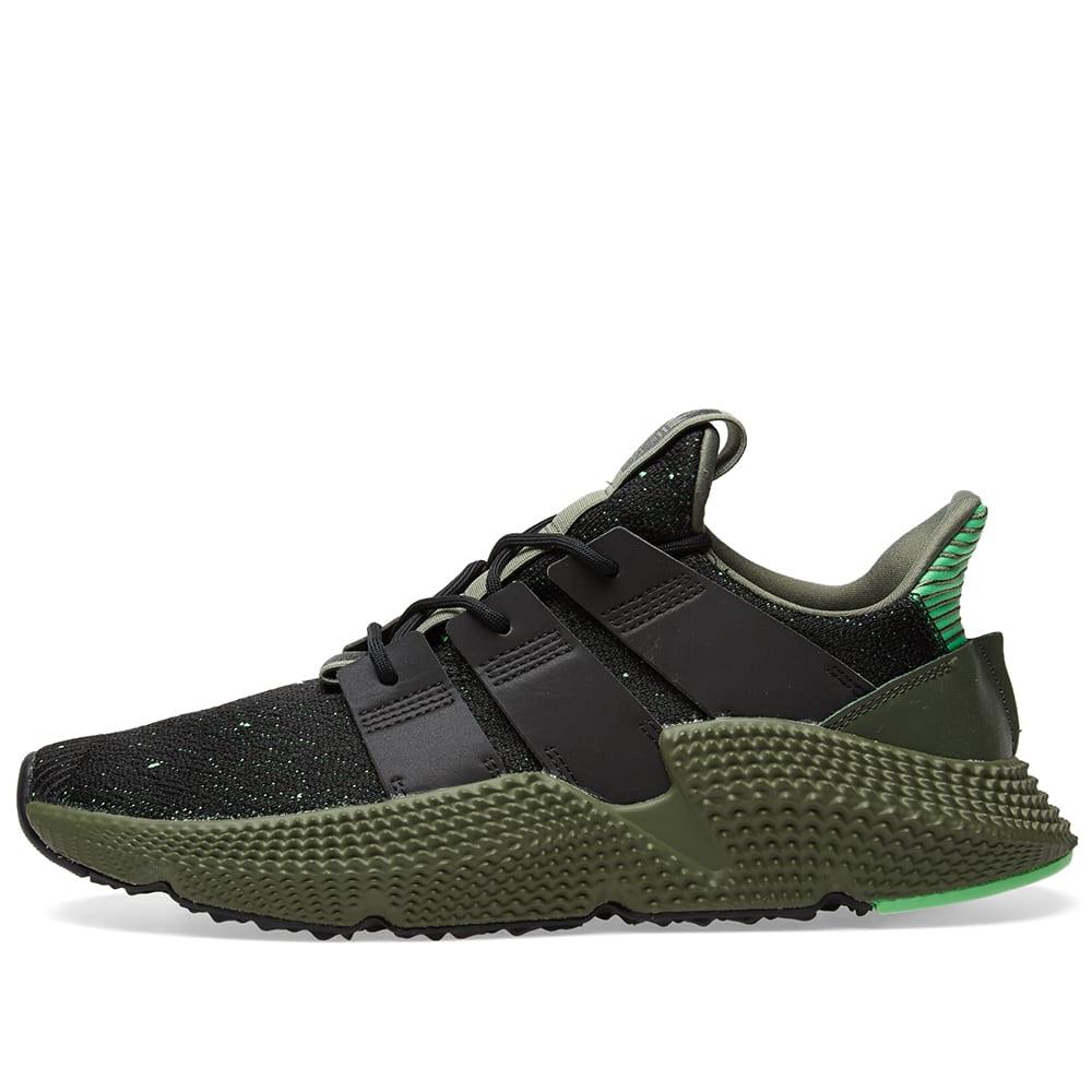 Adidas Prophere Core Black \u0026 Shock Lime