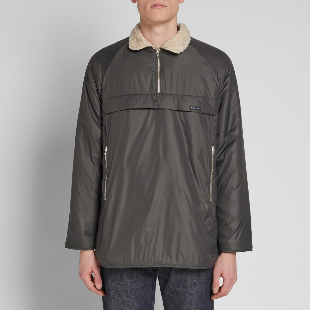8e8c944ee5e88d Nigel Cabourn x Peak Performance Quilted Smock Base Camp Green