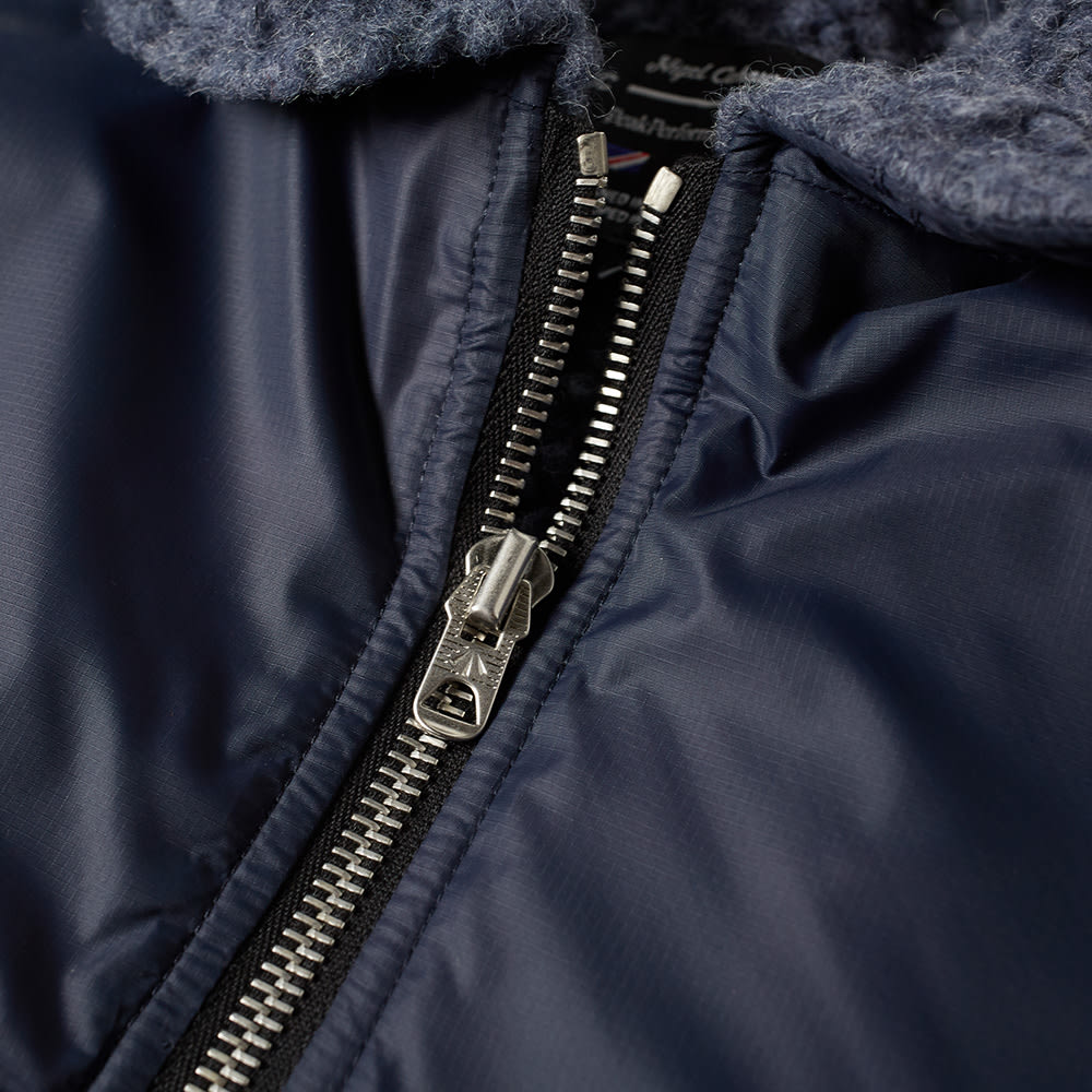 1b75dc7ec4dcf0 Nigel Cabourn x Peak Performance Quilted Smock Steel Blue