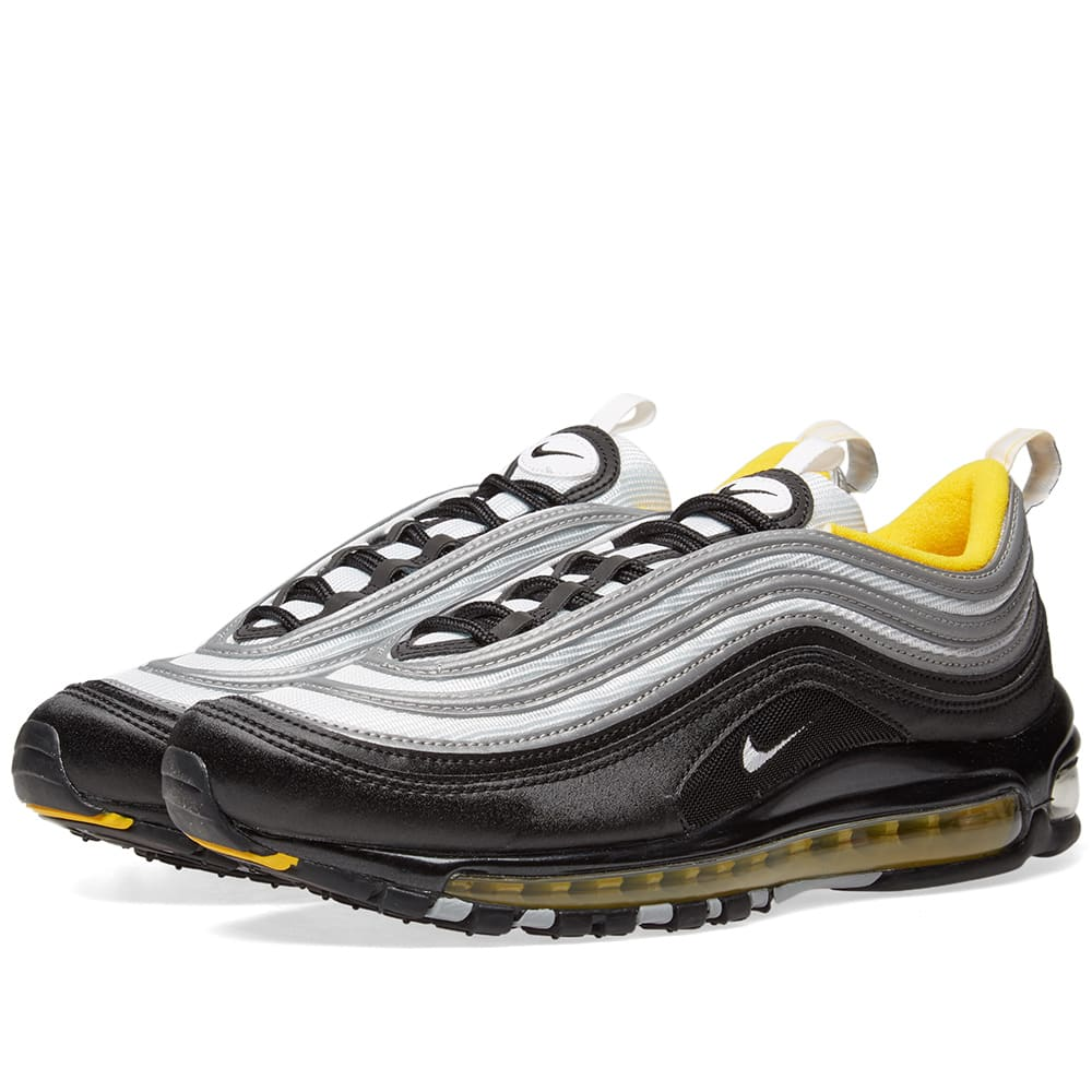 finest selection 46f27 cfbad Nike Air Max 97 Black, White   Amarillo   END.