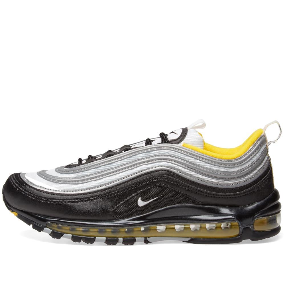 finest selection 6faca aab90 Nike Air Max 97 Black, White   Amarillo   END.