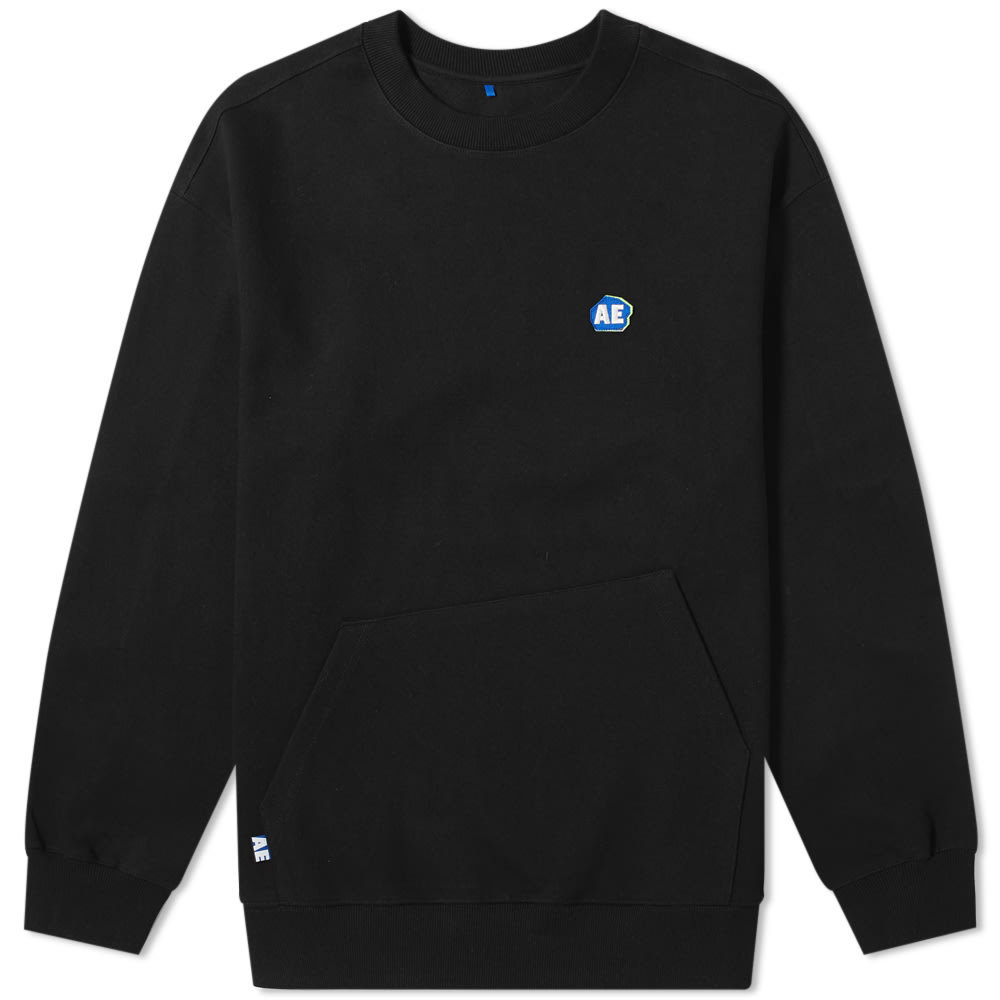 Ader Error Ae Logo Crew Sweat by Ader Error