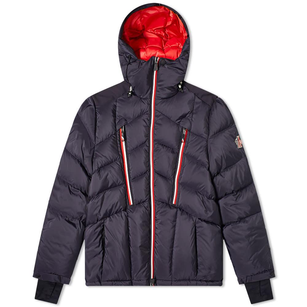 Moncler Grenoble Arnensee Tricolore Zip Down Ski Jacket