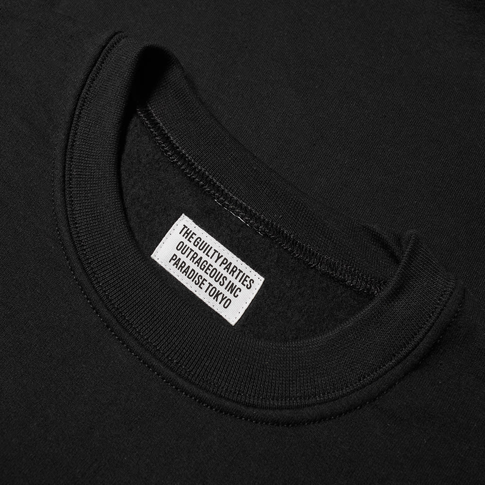 Wacko Maria Guilty Parties Embroidered Crew Sweat by Wacko Maria