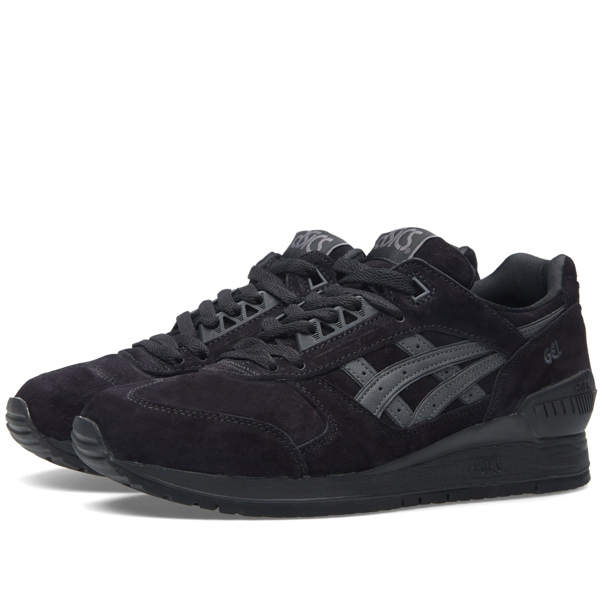 asics gel respector 39 shadow 39 black. Black Bedroom Furniture Sets. Home Design Ideas