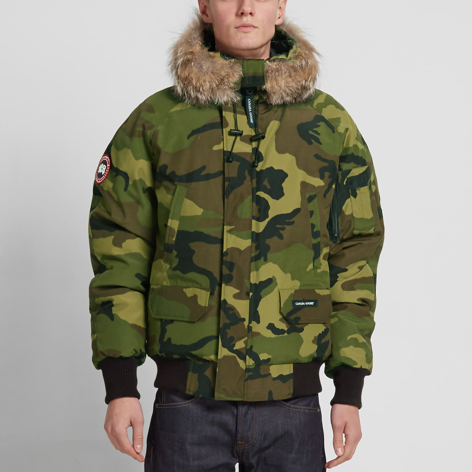 Canada Goose womens sale store - Canada Goose Chilliwack Bomber (Classic Camo)