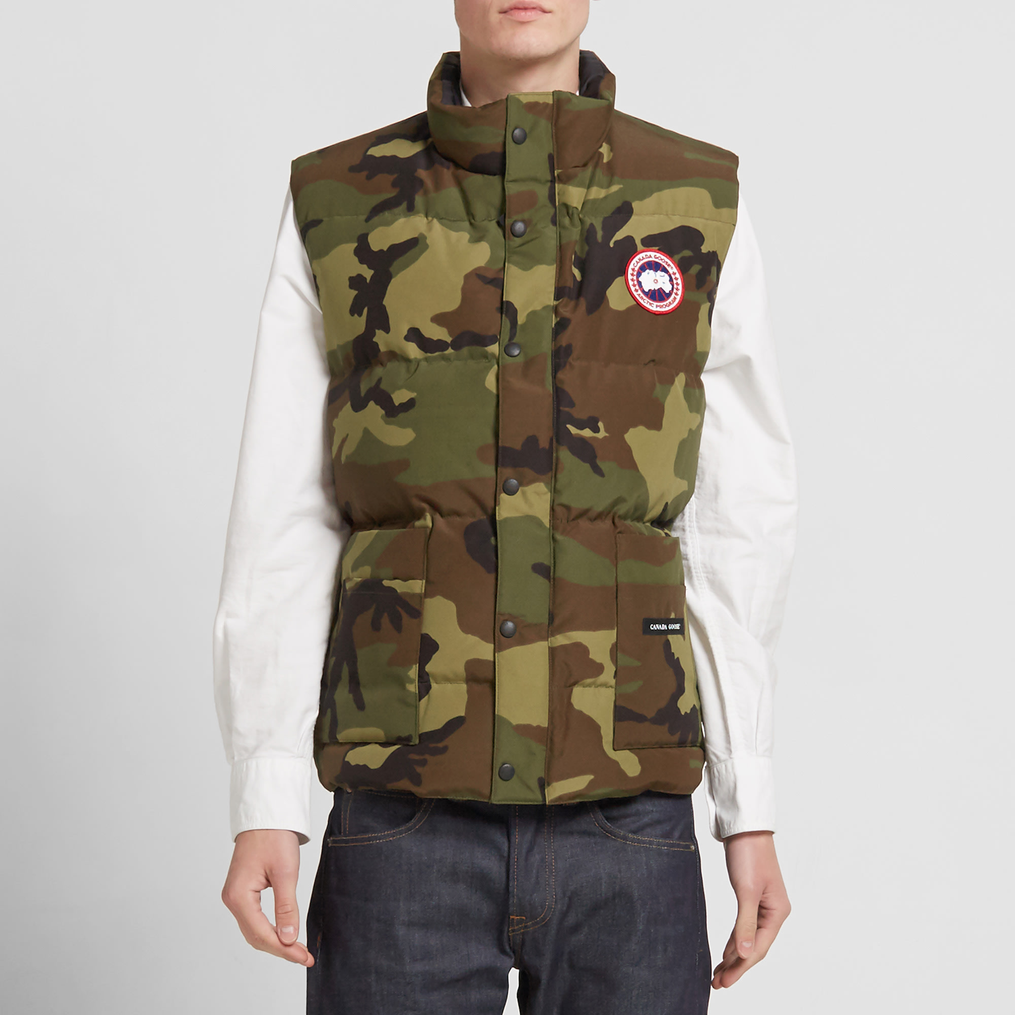 Canada Goose montebello parka outlet fake - Canada Goose Freestyle Vest (Classic Camo)