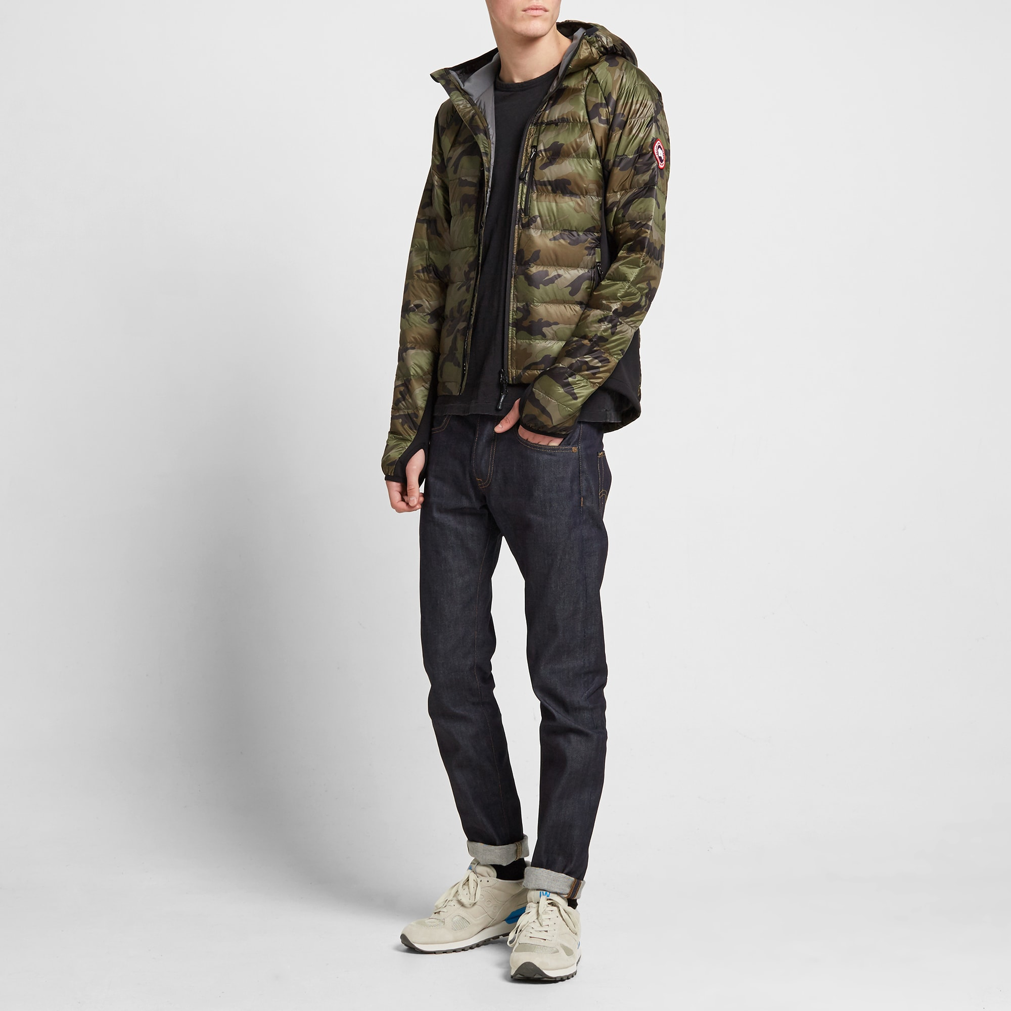 canada goose hybridge jacket fit