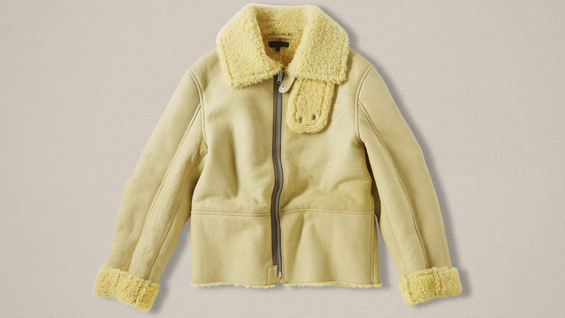 41d2043558dc4 Yeezy Season 3 Shearling Flight Jacket God Sun