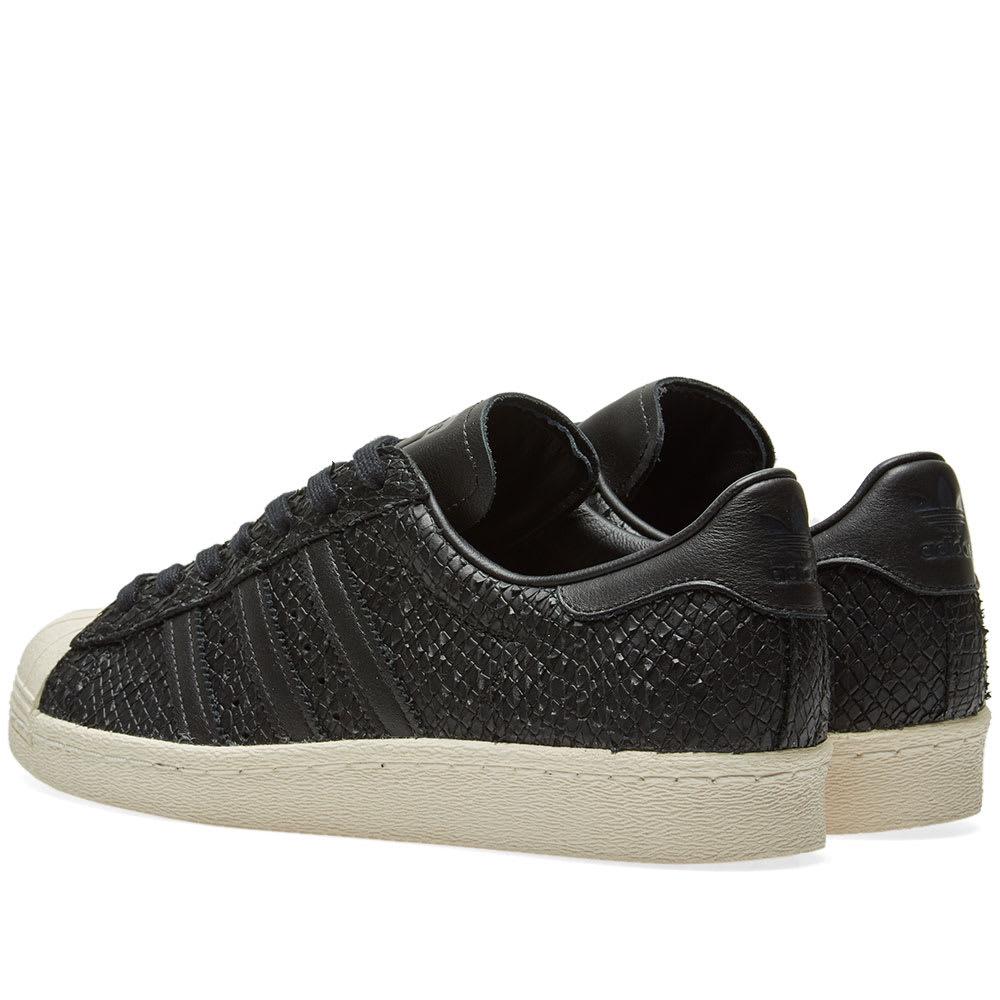 Adidas Superstar 80s W Core Black \u0026 Off