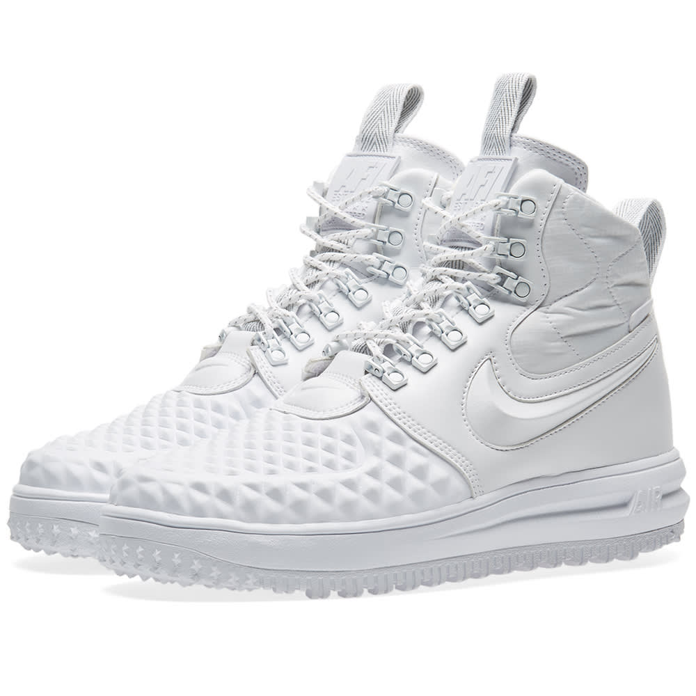 sports shoes 88521 f2d4b Nike Lunar Force 1 Duckboot  17 Ibex White   END.