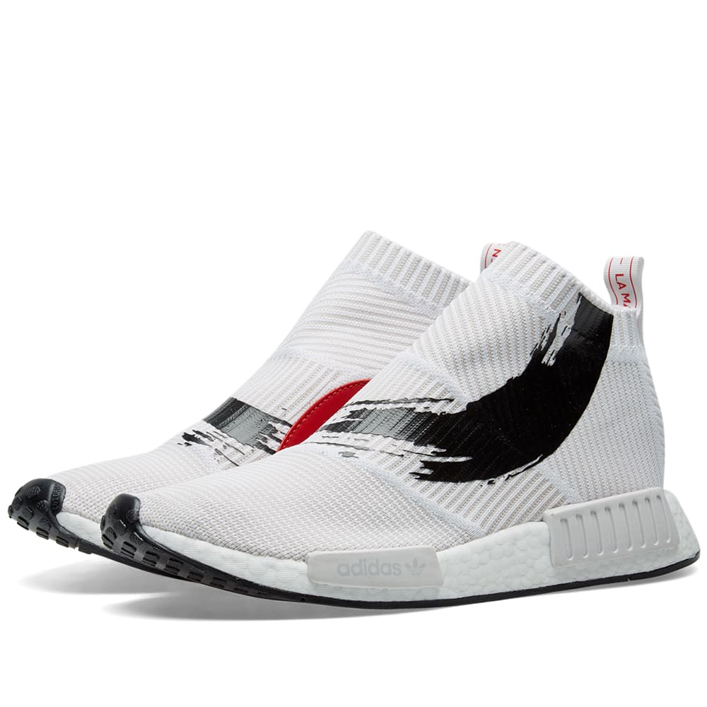 e599cf44c1445 Adidas Energy NMD CS1 PK White   Core Black