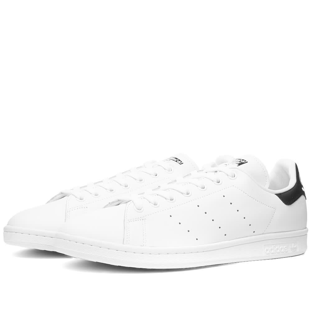 Adidas Stan Smith White \u0026 Core Black | END.