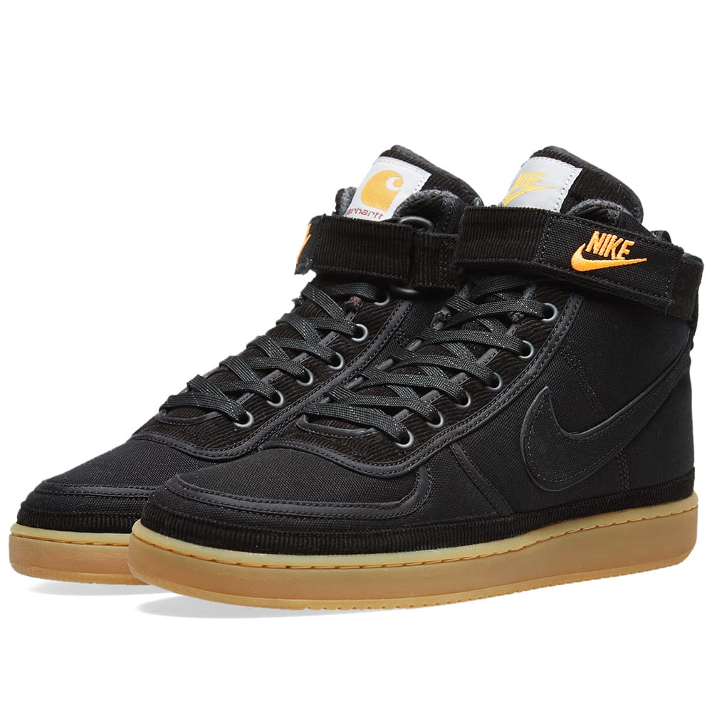 new arrival 84914 5f4a4 Nike Vandal High Supreme Premium WIP Black   Gum Light Brown   END.