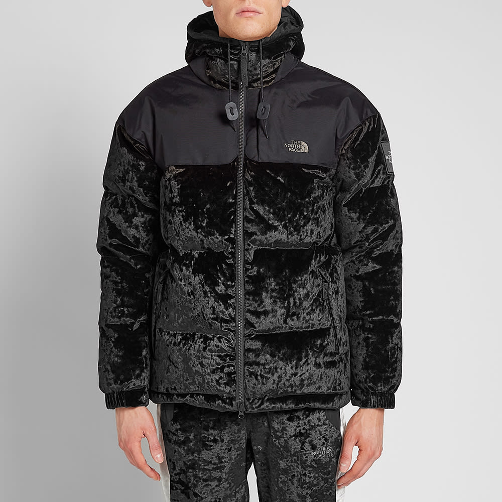4ccb9c269 The North Face Black Series Urban Velvet Nuptse Jacket