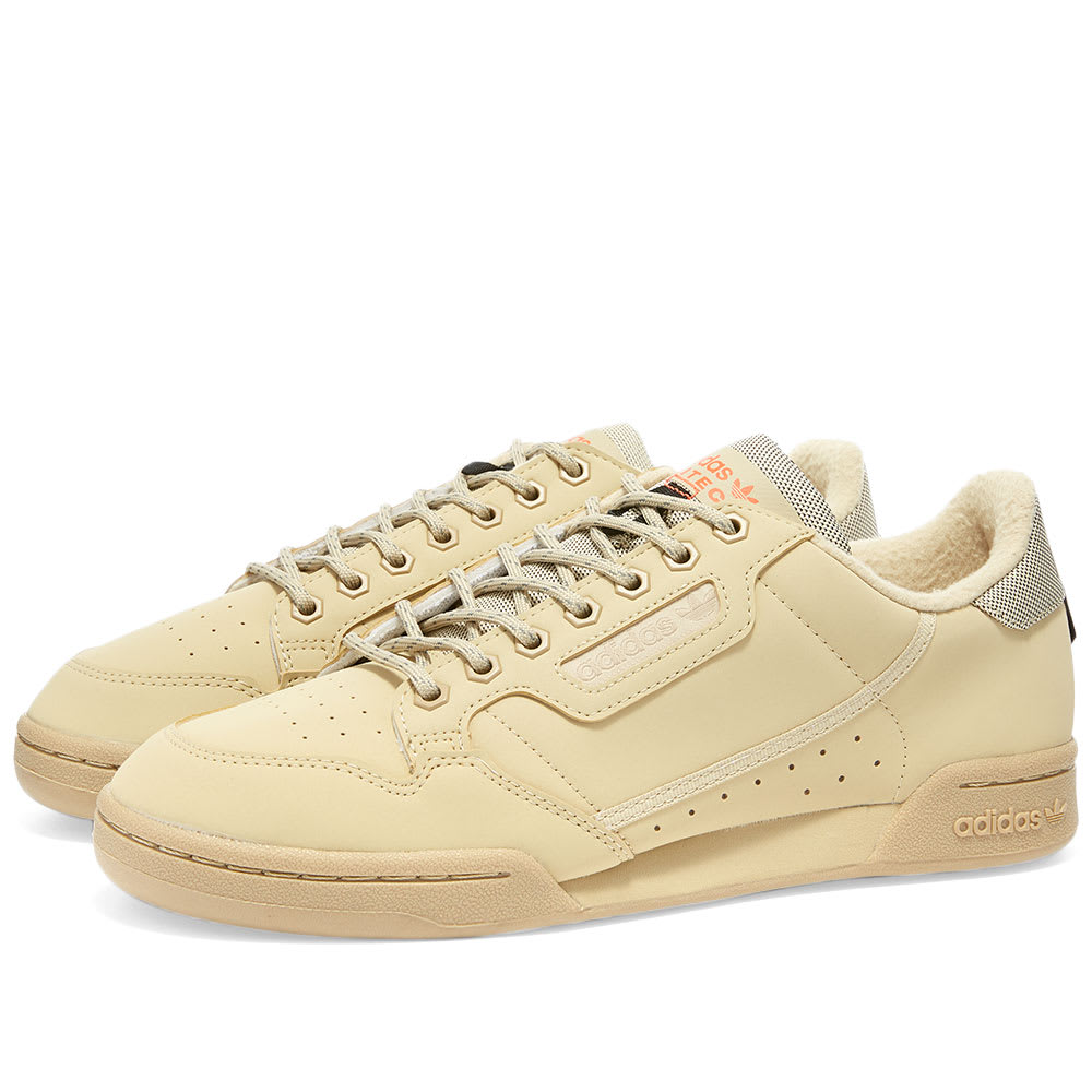 adidas continental 80 fleece