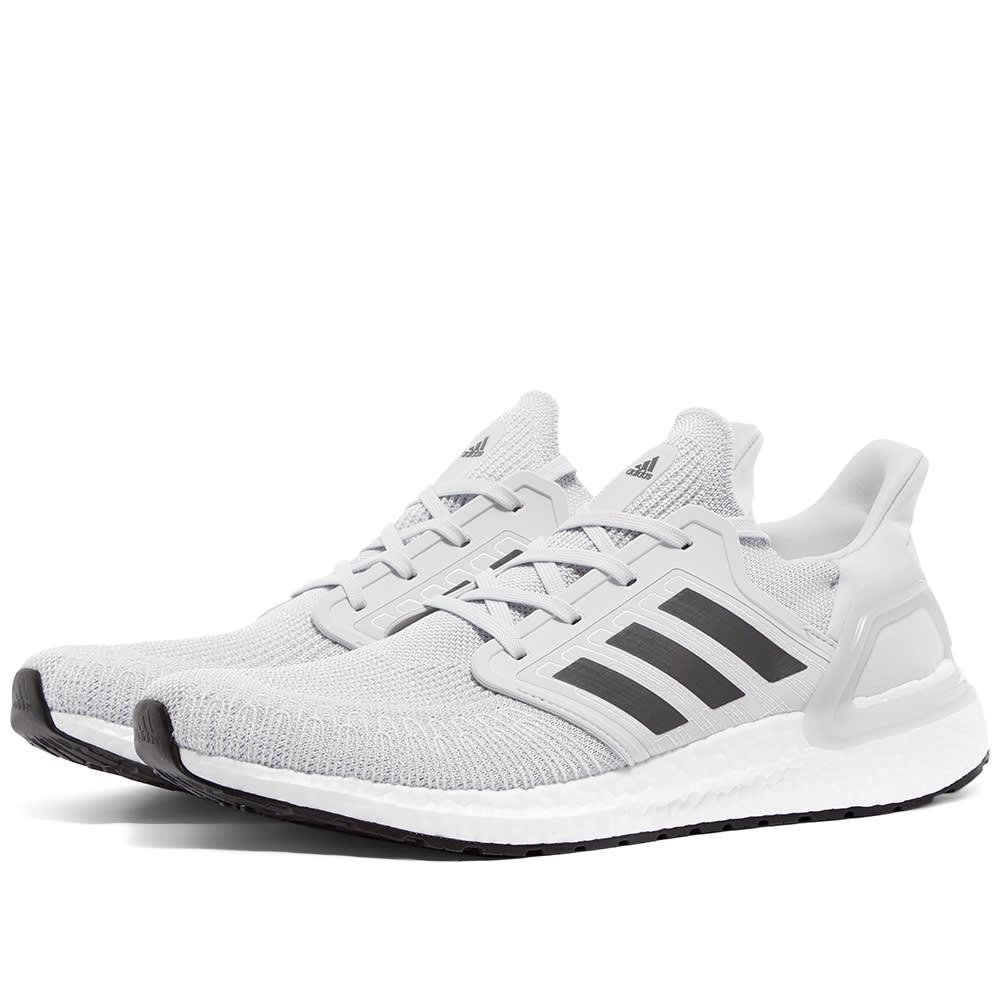 adidas Pure Boost Primeknit Grey White | SneakerFiles