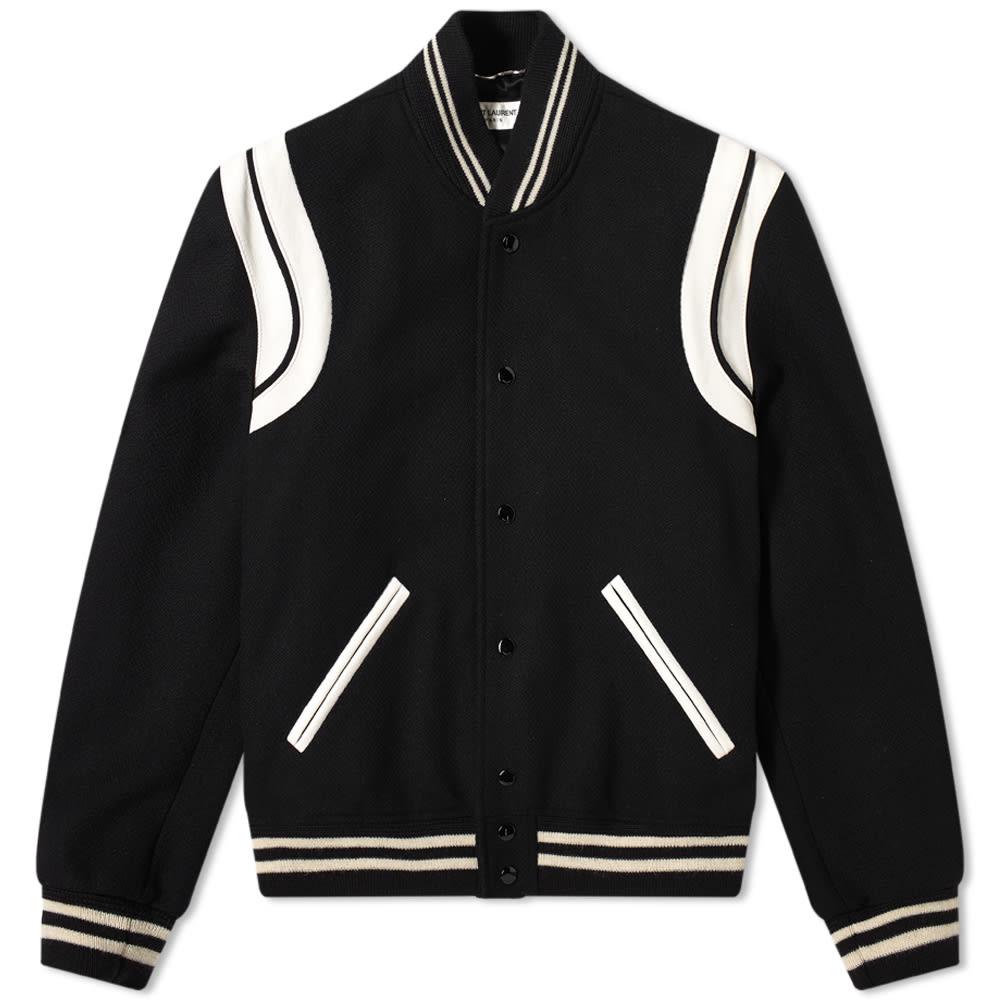 Saint Laurent Classic Teddy Jacket 354718-Y180W-1070
