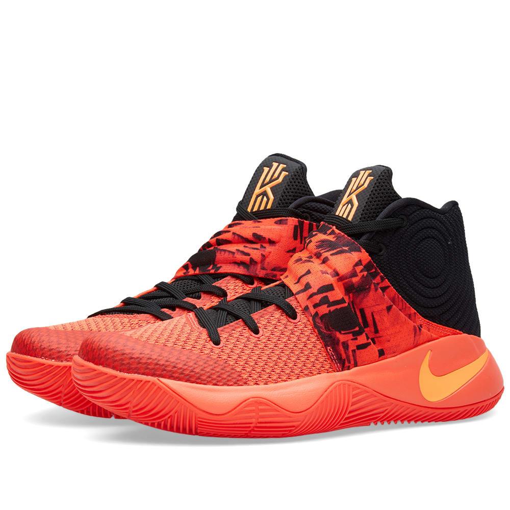 reputable site 6c2b4 74c9e Nike Kyrie 2 'Inferno' Bright Crimson & Atomic Orange | END.
