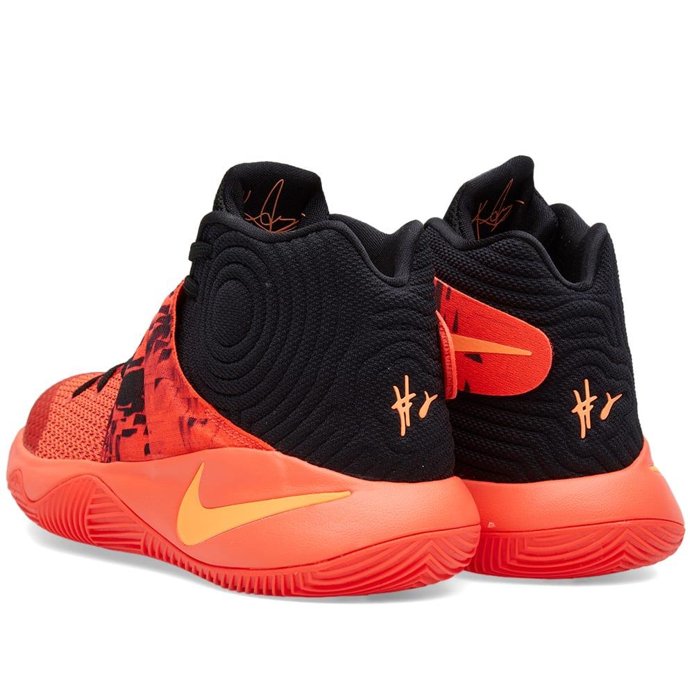 pretty nice 1c43f c2d57 Nike Kyrie 2  Inferno  Bright Crimson   Atomic Orange   END.
