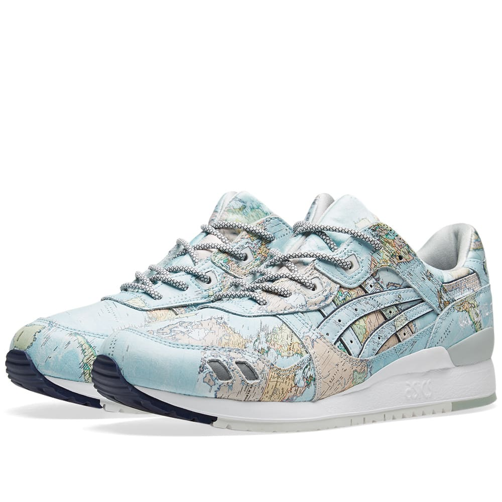 Gel Map' 'world Atmos Asics X Lyte Iii 2WH9EDIY