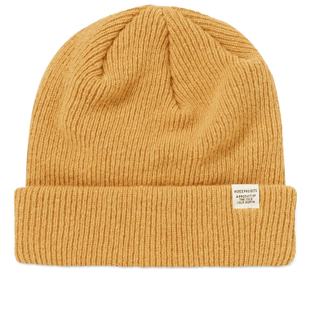 7b6e0c50bf3ce Norse Projects Beanie Sunwashed Yellow