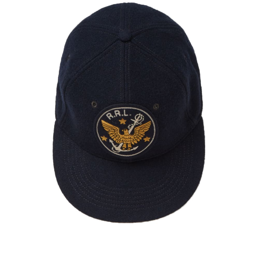 5779f146b7e11 RRL Fitted Ball Cap Navy