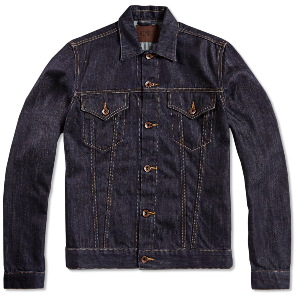 Edwin Buddy Denim Jacket (Rinsed)