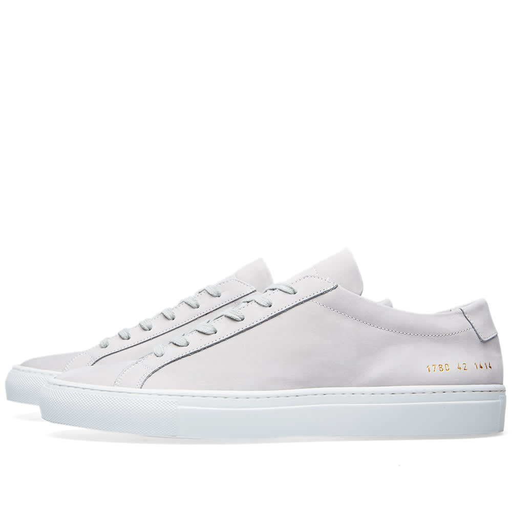 common projects achilles low nubuck ice. Black Bedroom Furniture Sets. Home Design Ideas