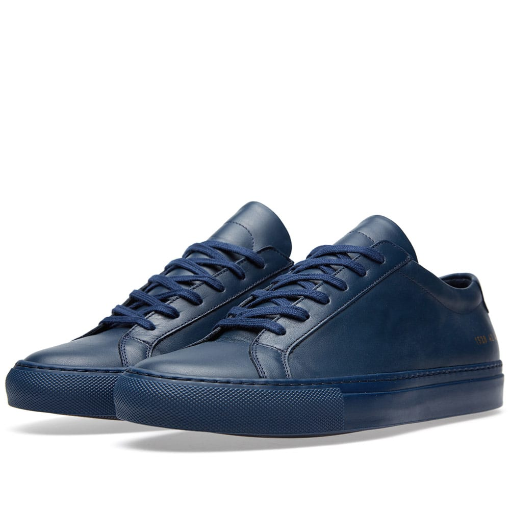 common projects original achilles low navy. Black Bedroom Furniture Sets. Home Design Ideas