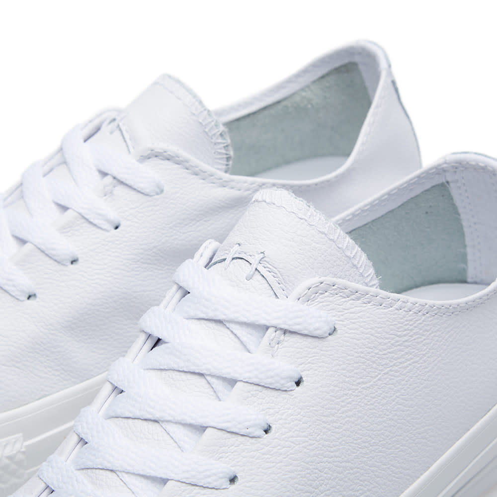 0256a5007dd7 Converse Chuck Taylor Sawyer Leather Ox White