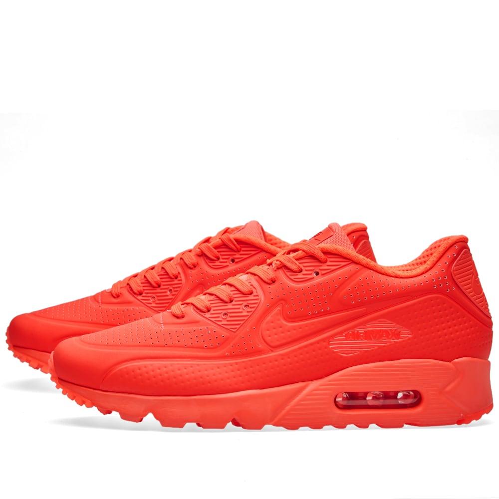 new styles 24482 400db Nike Air Max 90 Ultra Moire. Bright Crimson   White