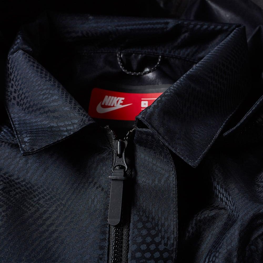 55230f4cd Nike Waterproof Bonded Blazer Black | END.