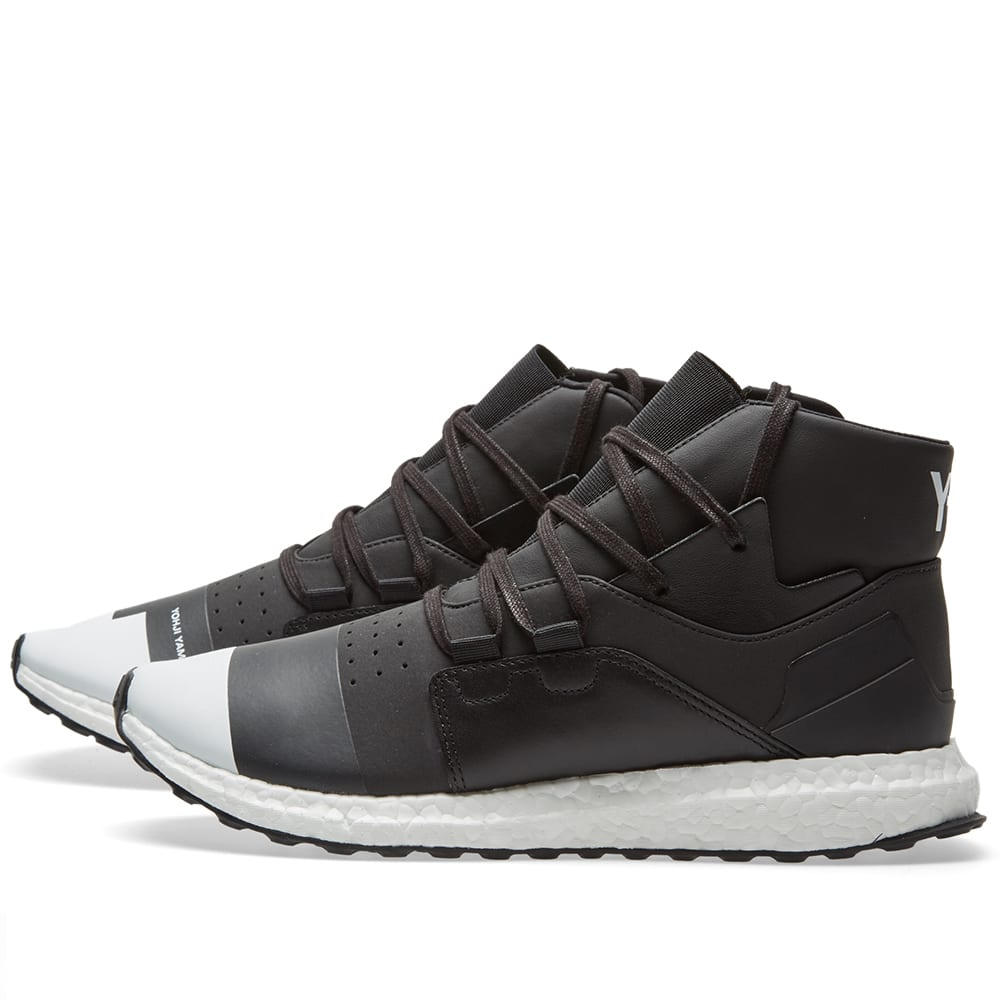 31bc84956 Y-3 Kozoko High Boost Core Black   White