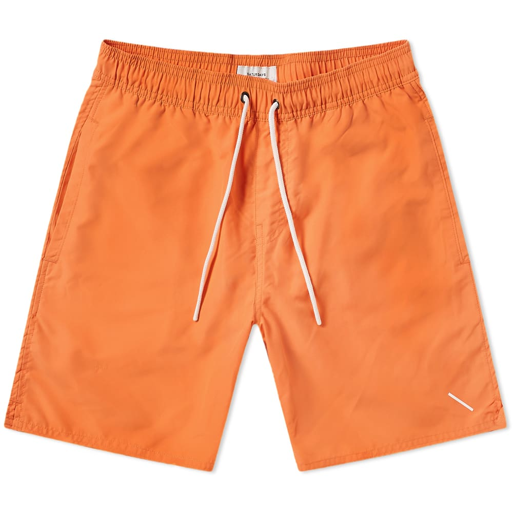 05b2d0704d Saturdays NYC Timothy Swim Short Peach | END.