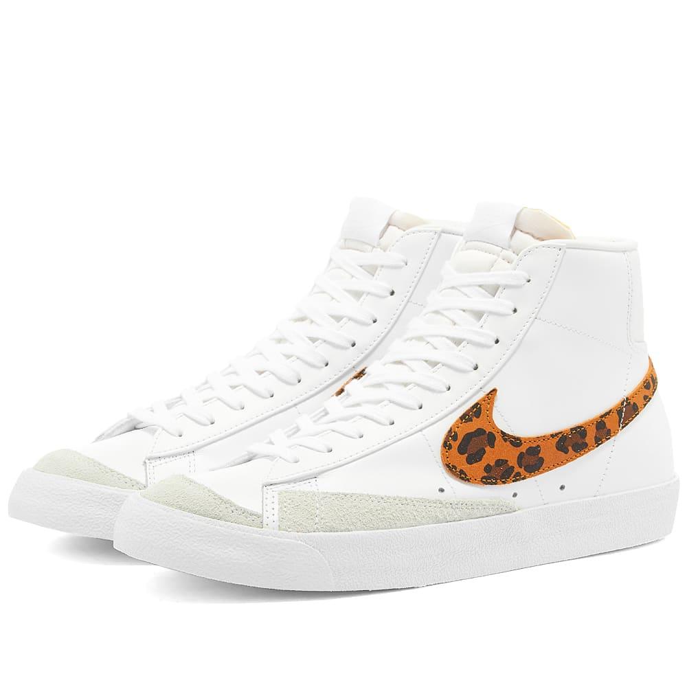 Nike Blazer Mid '77 'Leopard' W White | END.