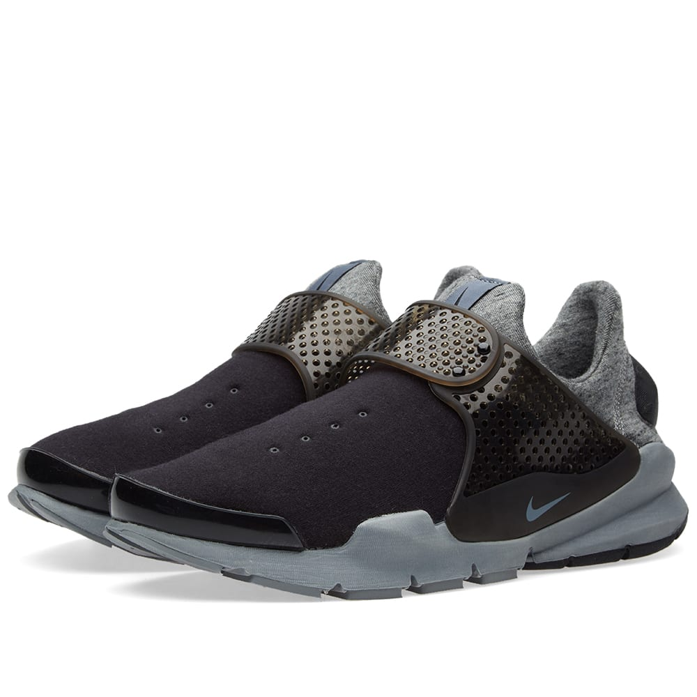 promo code 15b4e e5fc8 Nike Sock Dart Tech Fleece. Black   Cool Grey