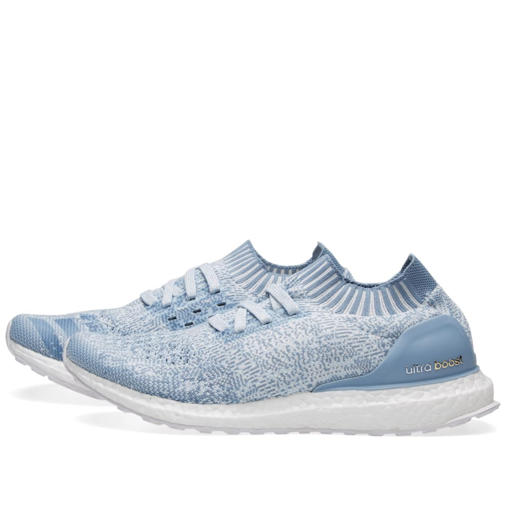 56ee532e8 Adidas Ultra Boost Uncaged W Crystal White   Tactile Blue