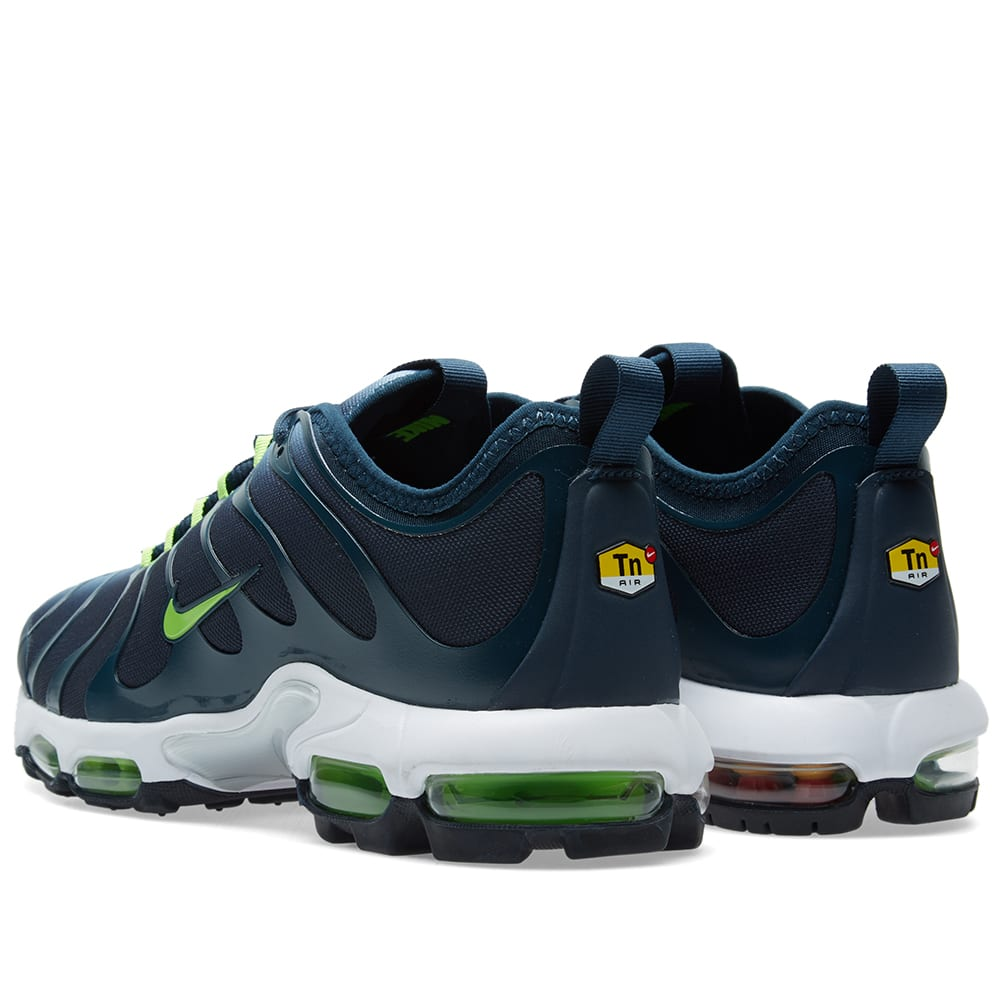 purchase cheap e5e84 e2e7c Nike Air Max Plus TN Ultra Blue Grey   Electric Green   END.