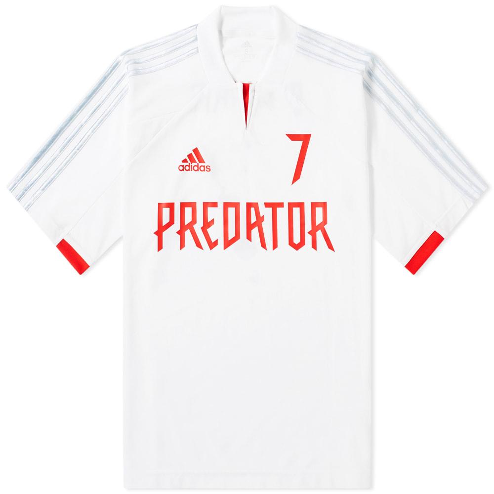 7a06dfcbe23 Adidas Consortium Predator Beckham Jersey White   Clear Grey