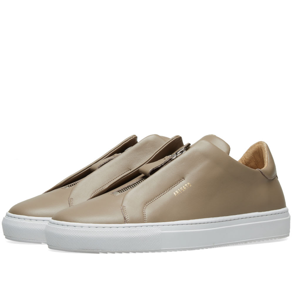 Axel Arigato Clean 90 Zip Sneaker Taupe