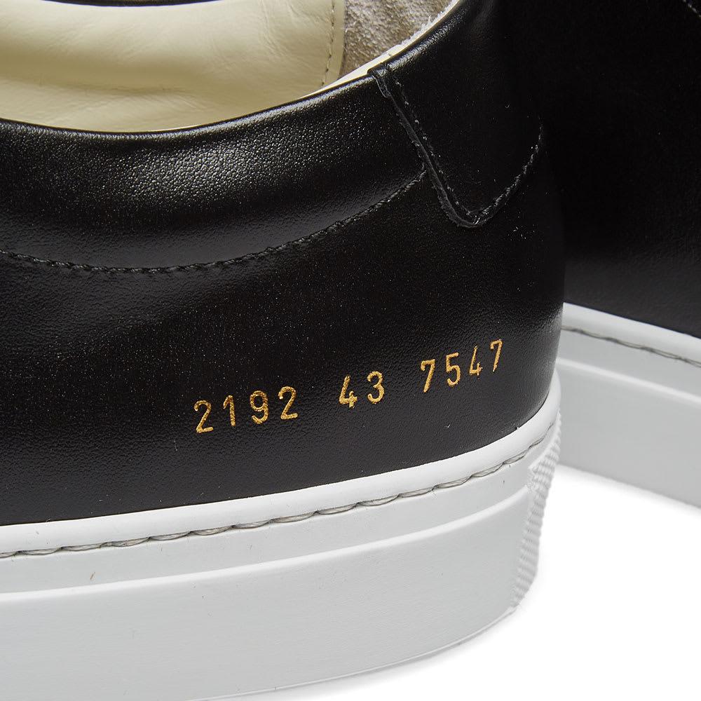 d3f7ea74f56b Common Projects Original Achilles Low White Sole Black | END.