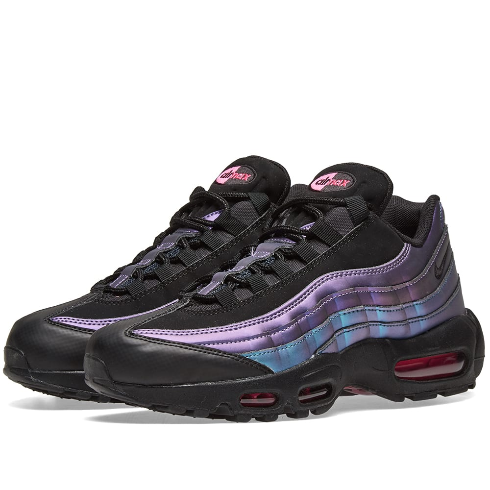 size 40 40d69 7007d Nike Air Max 95 Premium  Northern Lights  Black   Fuchsia   END.