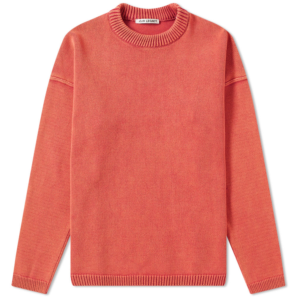 Our Legacy Knits OUR LEGACY POPOVER ROUNDNECK KNIT