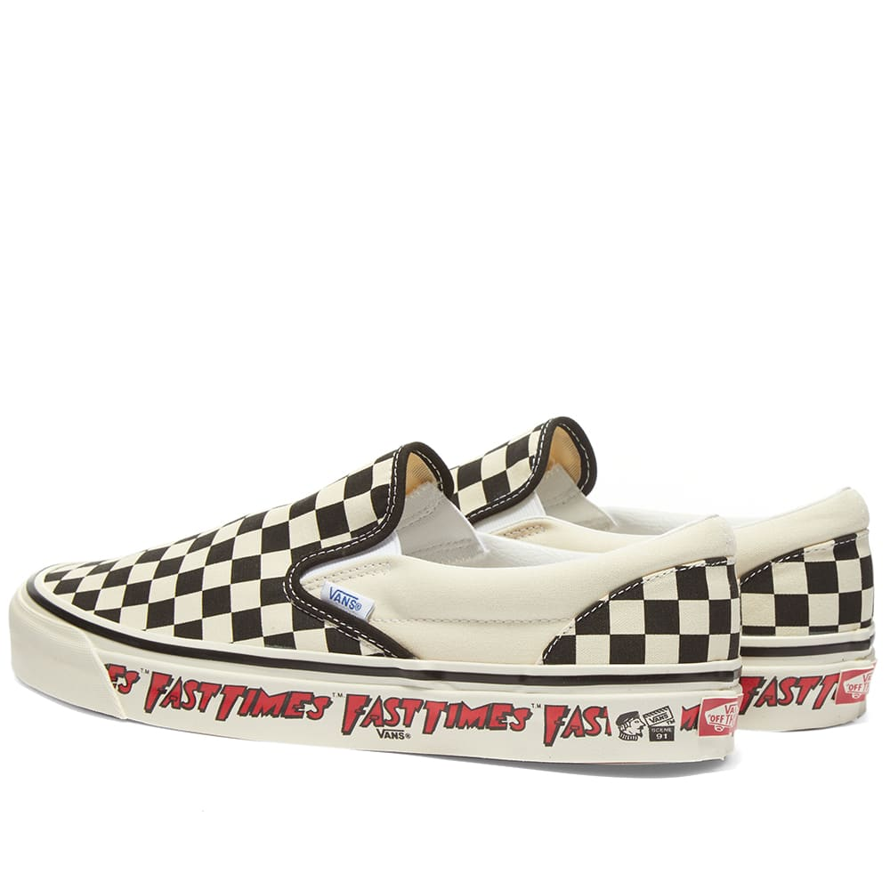 Vans Classic Slip-On 98 DX Fast Times