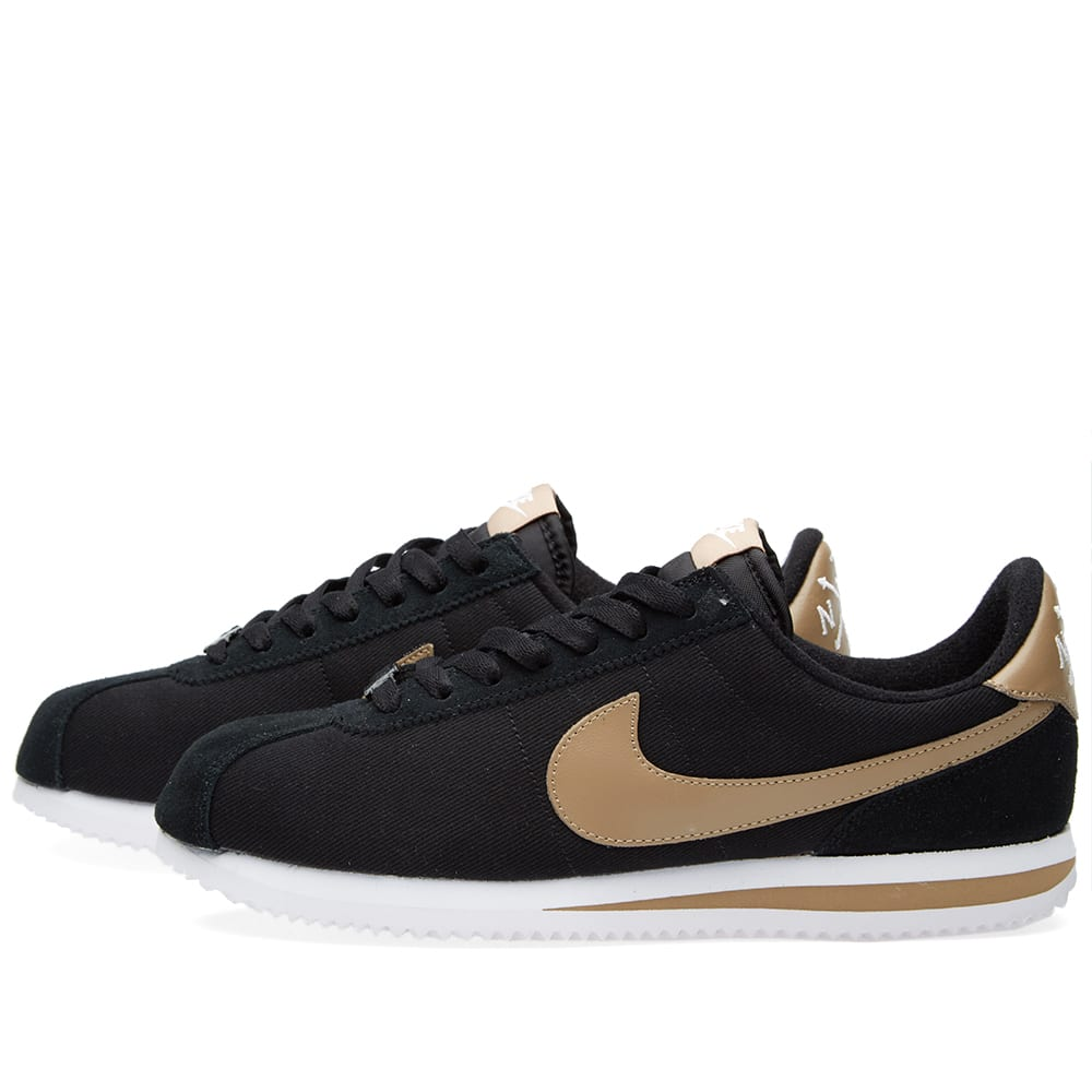 Sábana Día del Maestro Del Norte  Nike Cortez Basic Premium QS Black & Desert Camo | END.