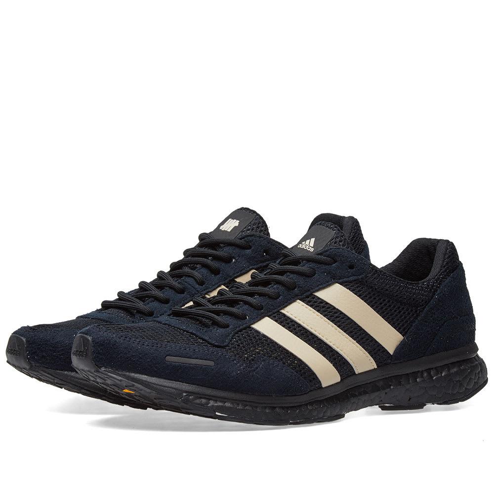 Adios Adidas X Undefeated 3 Adizero nX0PkwO8